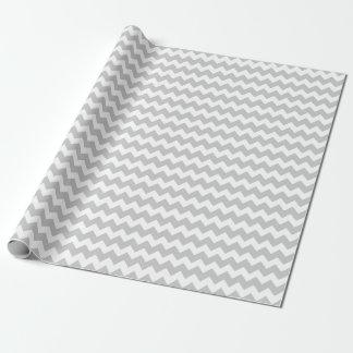 Wedding Silver Gray White Zigzag Chevron Stripes