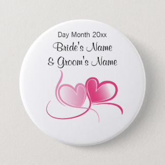 Wedding Souvenirs, Gifts, Giveaways for Guests 7.5 Cm Round Badge
