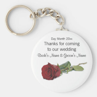 Wedding Souvenirs, Gifts, Giveaways for Guests Basic Round Button Key Ring