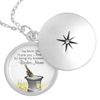Wedding Souvenirs, Gifts, Giveaways for Guests Locket Necklace