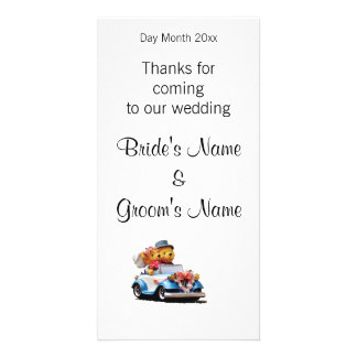 Wedding Souvenirs, Gifts, Giveaways for Guests Photo Greeting Card