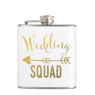 Wedding Squad Flask
