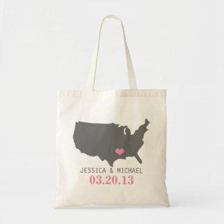 Wedding State Love Tote Bag