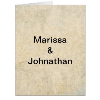 Wedding Stationery Group 1 Card
