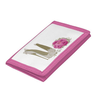 Wedding Stiletto Shoes and Bouquet Wallet
