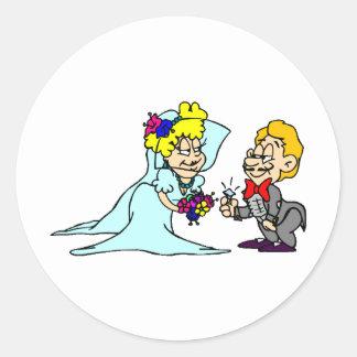 Wedding Supplies 38 Round Stickers
