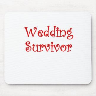 Wedding Survivor Mouse Pad