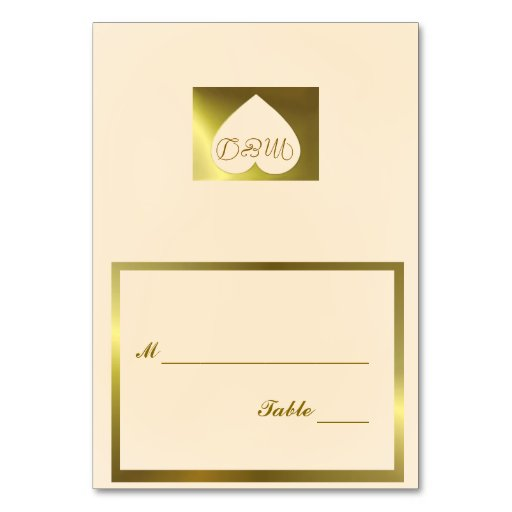 Wedding Table Number Card Vanilla Collection Table Card