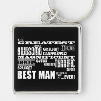 Wedding Thank You Best Men Greatest Best Man Key Chain