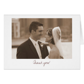 Wedding (Thank you!) Greeting Card
