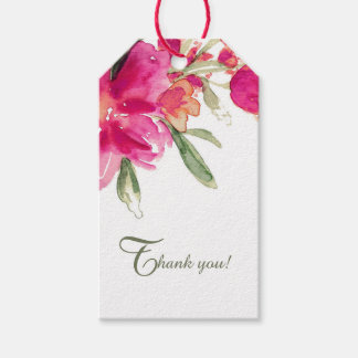 Wedding Thank You Customizable Favor Tags