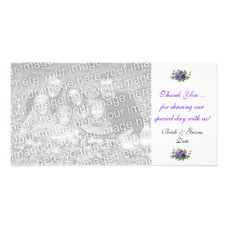 Wedding Thank You Note Photo Card Template