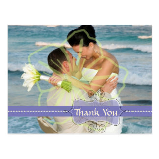 Wedding Thank you postcards insert your photos