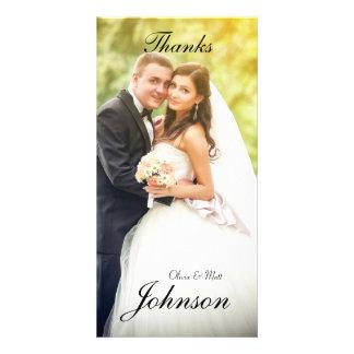 Wedding Thanks Photo Card