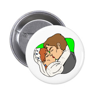 Wedding Theme 15 Buttons
