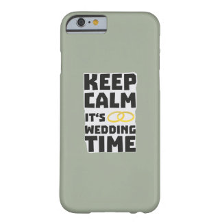 wedding time keep calm Zw8cz Barely There iPhone 6 Case