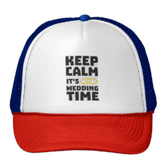 wedding time keep calm Zw8cz Cap