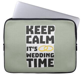 wedding time keep calm Zw8cz Computer Sleeves