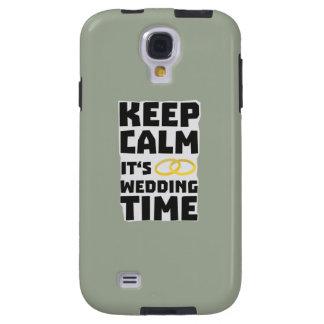 wedding time keep calm Zw8cz Galaxy S4 Case