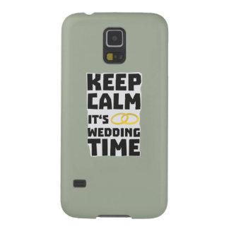 wedding time keep calm Zw8cz Galaxy S5 Cover