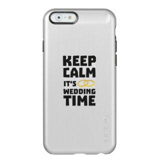 wedding time keep calm Zw8cz Incipio Feather® Shine iPhone 6 Case