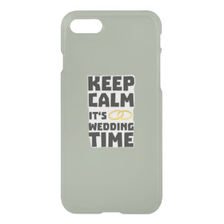 wedding time keep calm Zw8cz iPhone 7 Case