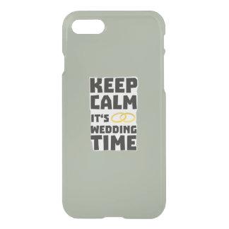 wedding time keep calm Zw8cz iPhone 8/7 Case