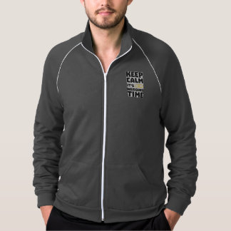 wedding time keep calm Zw8cz Jacket