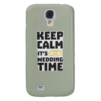 wedding time keep calm Zw8cz Samsung Galaxy S4 Cover