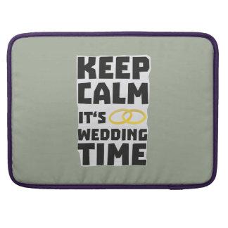 wedding time keep calm Zw8cz Sleeve For MacBooks