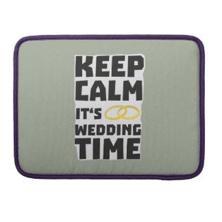 wedding time keep calm Zw8cz Sleeves For MacBooks