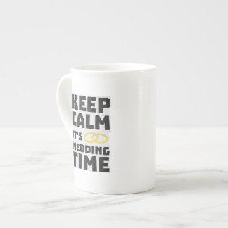 wedding time keep calm Zw8cz Tea Cup