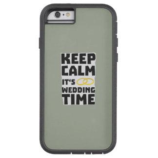 wedding time keep calm Zw8cz Tough Xtreme iPhone 6 Case