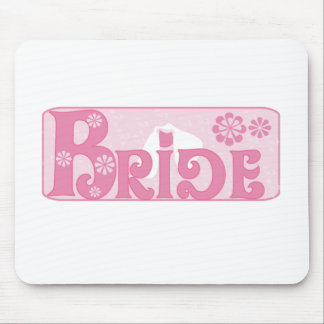 Wedding Veil Bride Mouse Pad