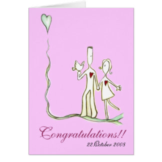 Wedding - Walking Together Card (C12special)