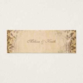 Wedding Website Cards {Toffee}
