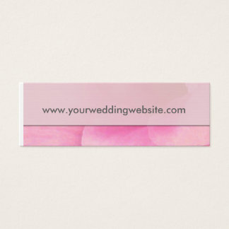 Wedding website gift tag cards