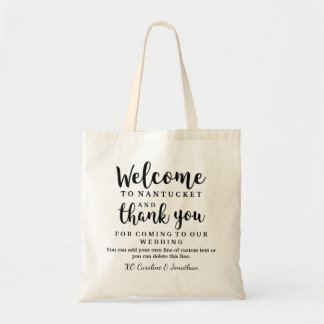 Wedding Welcome and Thank You Hotel Gift Bag