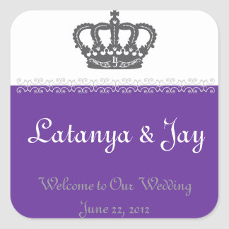 Wedding Welcome Bag Sticker