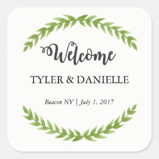 Wedding Welcome Sticker