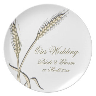 """Wedding wheat dinnerware """"country collection"""""""