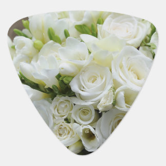 Wedding White Blossoms Romantic Destiny Plectrum