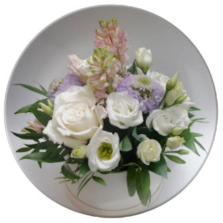 Wedding White Blossoms Romantic Destiny's Destiny Plate