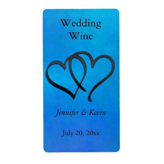 Wedding Wine Label