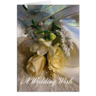 Wedding Wish greeting card