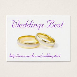 Weddings Best Business Card
