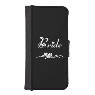 Weddings Classic Bride iPhone 5 Wallet Case
