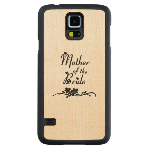Weddings Mother of the Bride Carved® Maple Galaxy S5 Slim Case