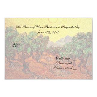 Weddings RSVP card. Custom Invitation