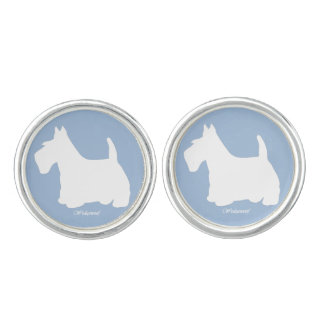 Wedgewoof Scottish Terrier Cufflinks